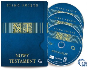Nowy Testament x 3 CD MP3