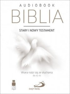 """Biblia Audiobook.  Stary i Nowy Testament"" USB mp3"
