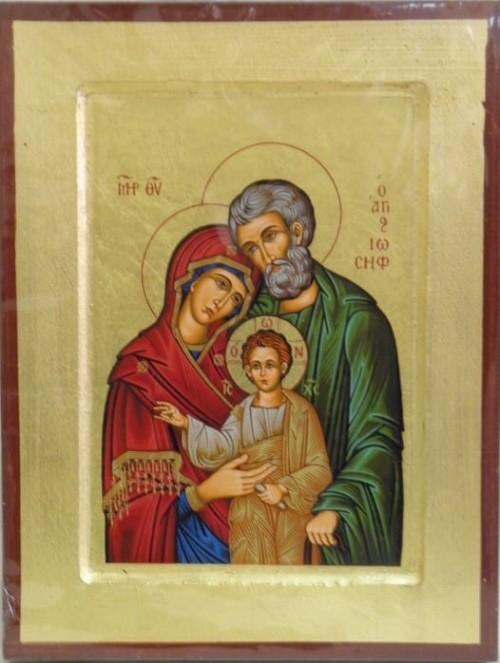 Ikona Grecka Z Certyfikatem święta Rodzina 24312 święty