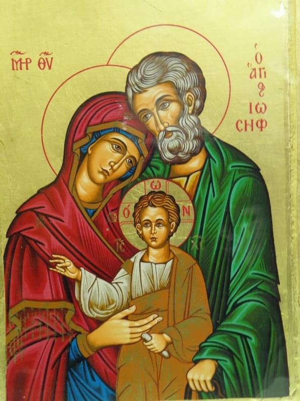 Ikona Grecka Z Certyfikatem św Rodzina 24325 święty Jacek