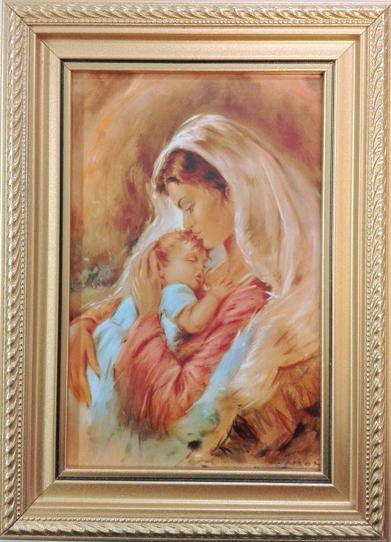 Wspaniały Obraz - Matka Boża z Dzieciątkiem Jezus - WIG0081(29) - Święty UF54
