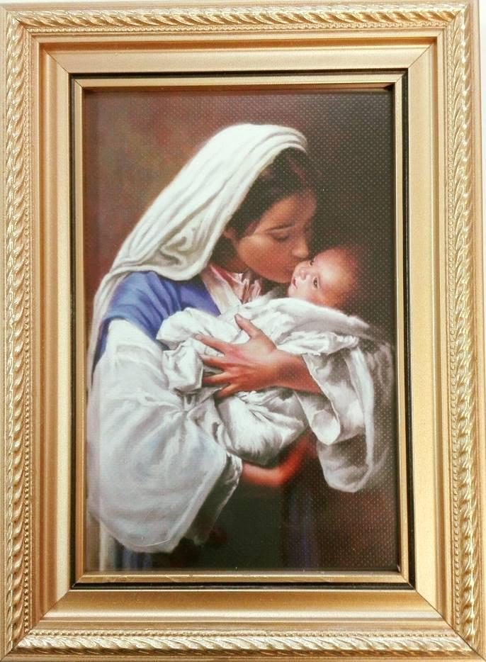 Góra Obraz - Matka Boża z Dzieciątkiem Jezus - WIG0081(32) - Święty KJ01